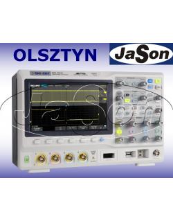 Oscyloskop 300MHz, 4 kanały, 2GSa/s, 140Mpts, SPO - SIGLENT SDS2304X