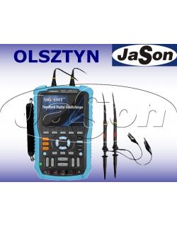 Scopometr oscyloskop samochodowy 60Mhz, 2-kanałowy, 1GS/s, LCD kolor - SIGLENT SHS806