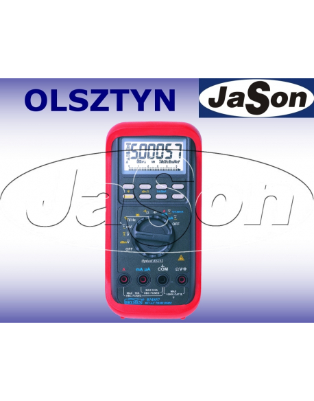 Multimetr TRMS, AC+DC, 20kHz, RS232 - Brymen BM857s