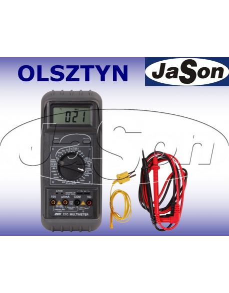 Multimetr uniwersalny z pomiarem RLC i temperatury - CHY21C