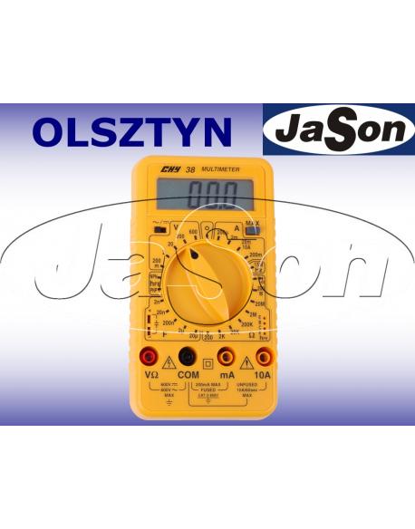 Multimetr cyfrowy Hz,C.hFE - CHY38