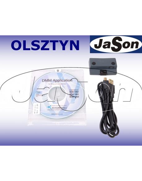 Kabel USB z optozłączem i program do KEW1052/1061/1062 - Kyoritsu KEW8241