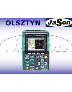 Analizator jakości energii + 3 cęgi elastyczne 500A - KYORITSU KEW6315-01