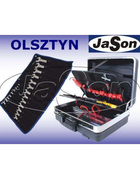 Zestaw narzędzi [66 szt.] w walizce + kpl kluczy płasko-oczkowych 6-32mm - OPT ZNW-2