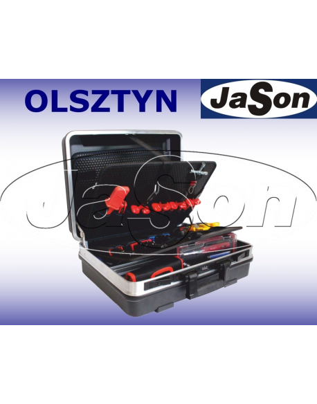 Zestaw narzędzi [44 szt.] w walizce4 - OPT ZNW-1