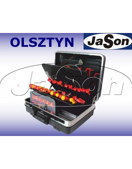 Zestaw narzędzi izolowanych, 1000V, [49 szt.], w walizce - OPT ZNIW-1