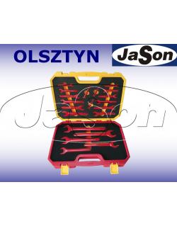 Komplet kluczy płaskich 6-32mm [ 20szt.], izolowanych 1000V - OPT ZKPI-2