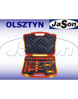 """Zestaw narzędzi [20 szt.] izolowanych 1000V FW / klucze nasadowe 1/2"""" + imbus 4-8mm /w walizce - OPT ZKNI-2"""