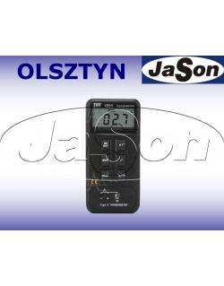 Termometr 1-kanałowy -50 do 1300°C z wyjściem do rejestratora - TES1300