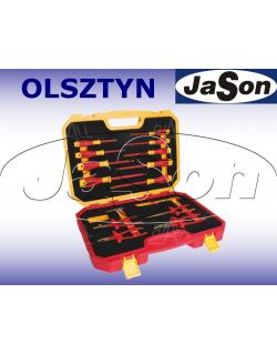 Zestaw narzędzi [15 szt.] izolowanych 1000V FW - wkrętaki, szczypce, nóż / w walizce - OPT ZNI-3