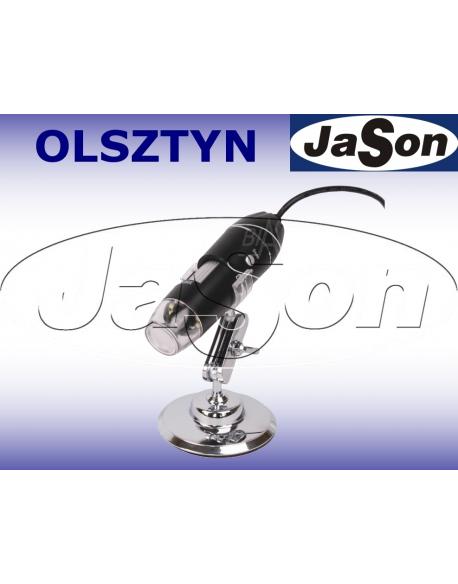 Mikroskop mini x4/500x, z USB - SOLDERLAB