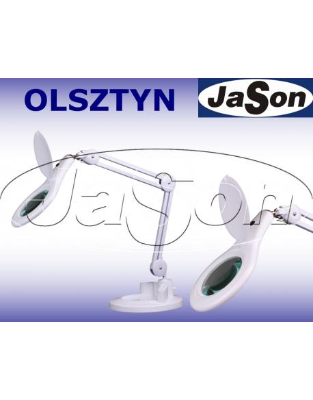 Lampa z lupą Ø127mm 5D oświetlenie LED SMD 9W biurkowa - SOLDERLAB 8066LED-A-B3
