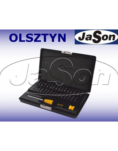 Zestaw narzędzi ESD uchwyt + bity SL,PH,PZ,TORX,HEX WhirlPower 112-1230