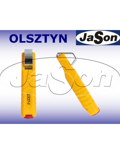 Ściągacz izolacji 4-28mm / nóż - korowarka - OPT LY27-1