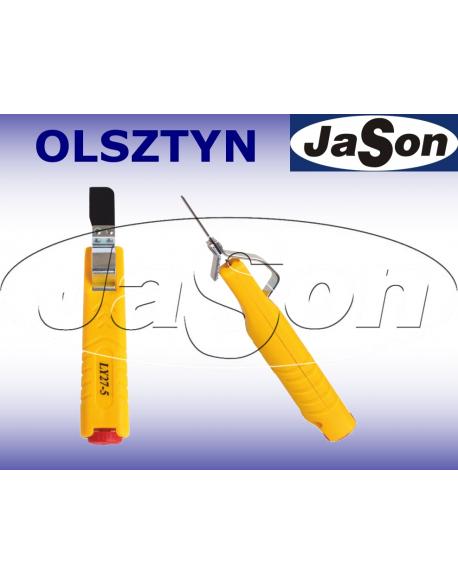 Ściągacz izolacji 8-28mm / nóż - korowarka - OPT LY27-5