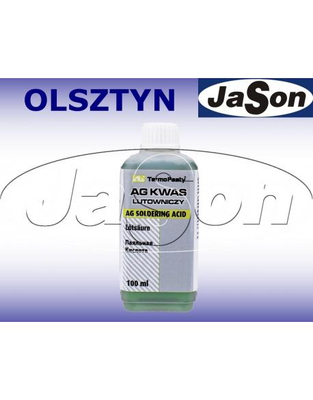 Kwas lutowniczy 100 ml z pędzelkiem - AG TERMOPASTY AGT-246