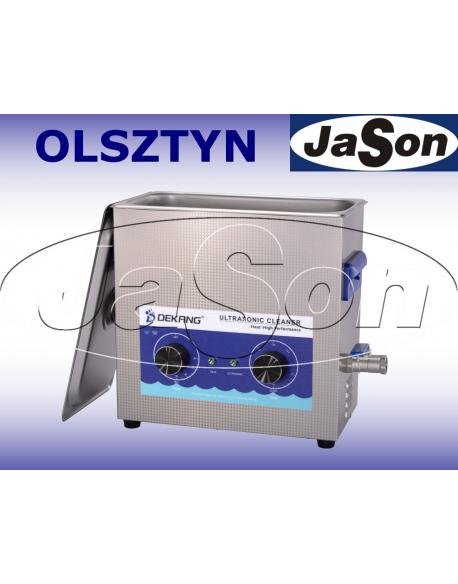 Myjka ultradźwiękowa 6,5L 180W - DEKANG DK-600H