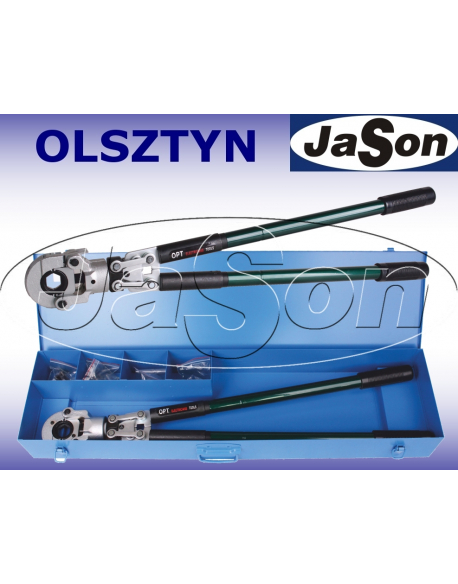 Zaciskarka praska heksagonalna ręczna 10-300mm2 + szczęki R22 95-300mm2 - OPT CX22A