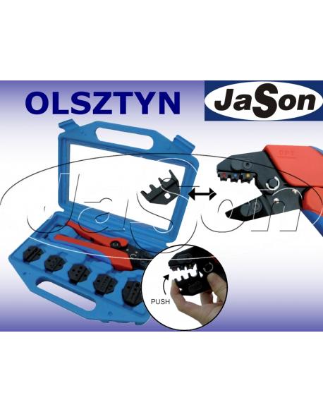 Zaciskarka do końcówek kablowych z wymiennymi matrycami [6szt.] - OPT QLY03C-6D Fast and Easy