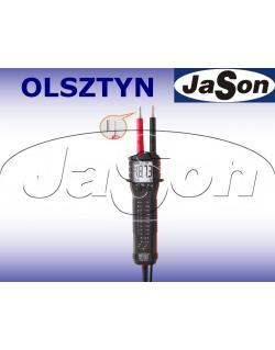 Tester elektryka 1-1000V LED znak bezpieczeństwa B - BRYMEN BT73EU
