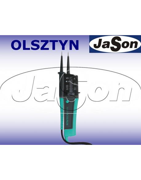 Tester elektryka 12-690V LED znak bezpieczeństwa B - KYORITSU KT170