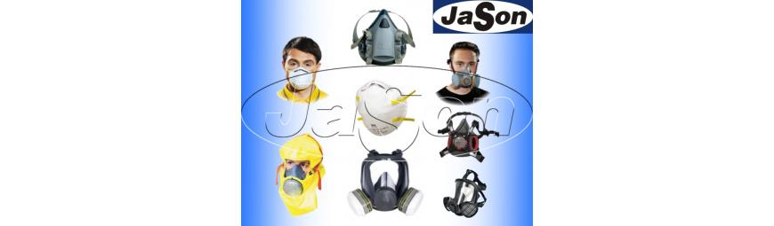 Maski ochronne na twarz - maski przeciwpyłowe z filtrami i przyłbice